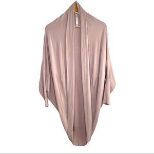 Babaton Blush Pink Cocoon Cardigan XXS / XS